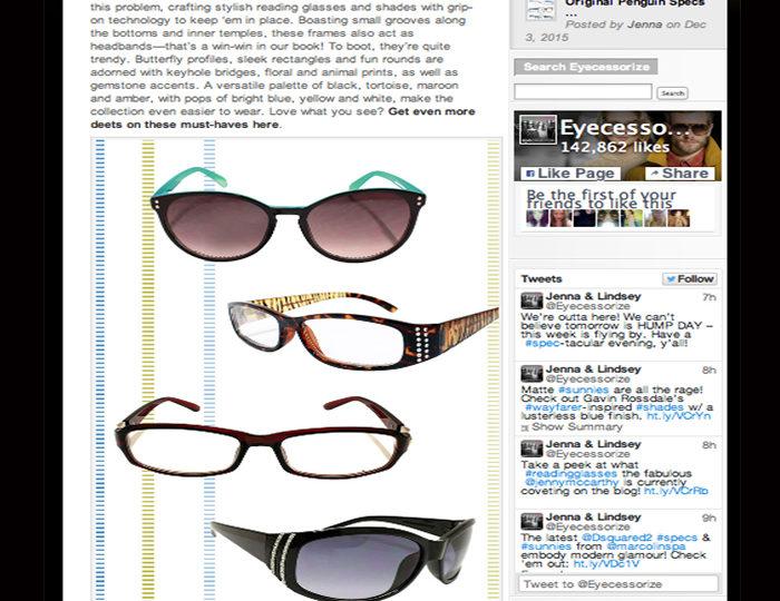 The Eyecessorize Blog